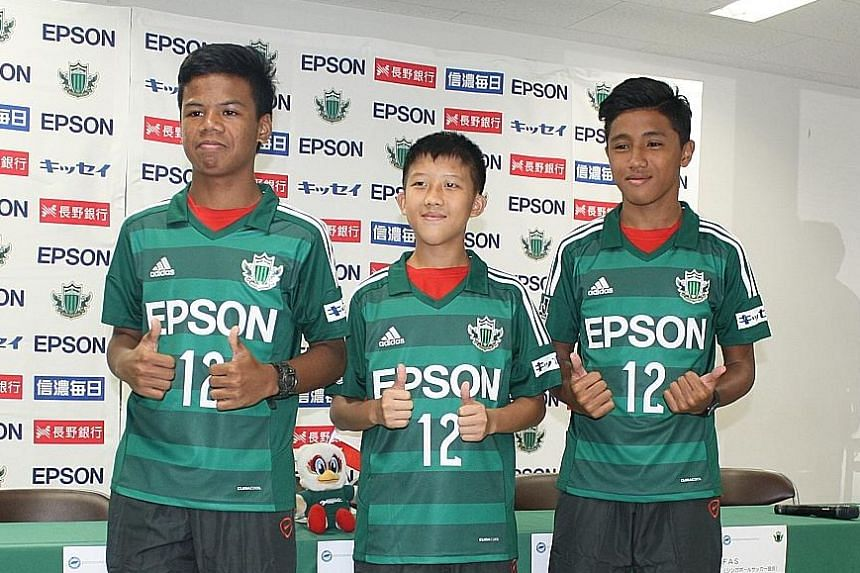 (From left) Nur Adam Abdullah, Elijah Lim and Hamizan Hisham had to deal with 15 journalists and crew from three television stations.