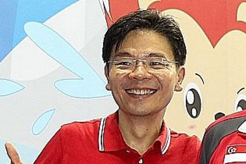 Minister of Culture, Community and Youth Lawrence Wong.