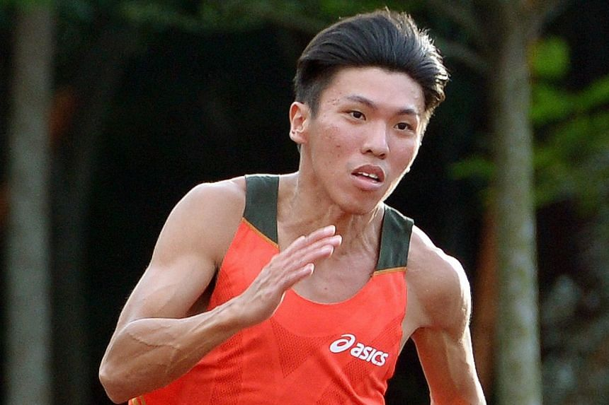 Gary Yeo, 28, Singapore sprinter who ran at the 2012 Olympics.