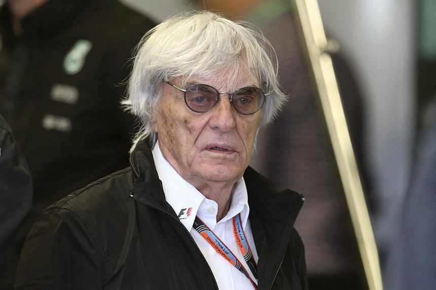 The commercial side of Formula One is run by 84-year-old Bernie Ecclestone (above).