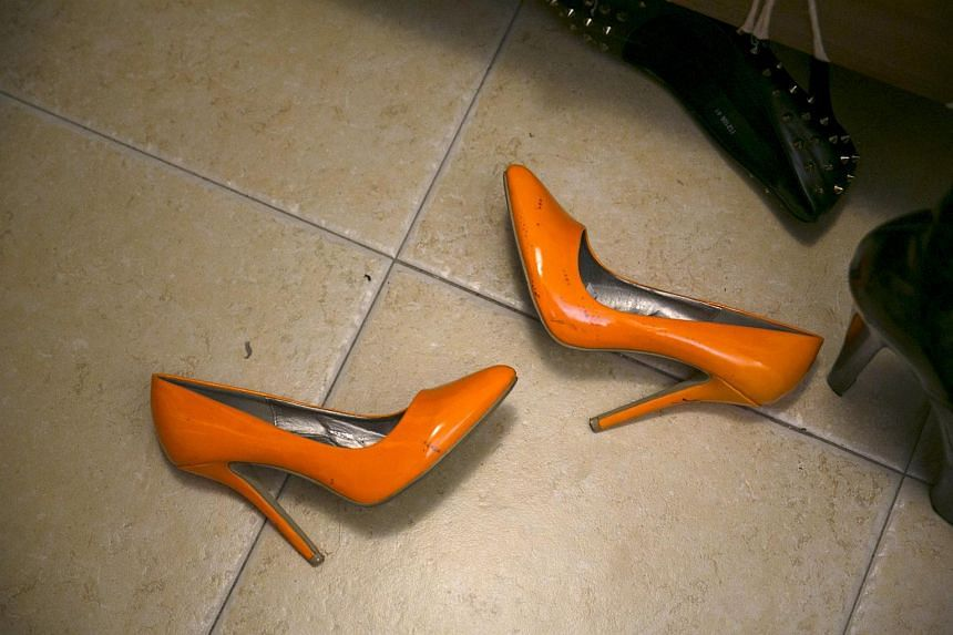 The higher the heel on the shoe, the more weight is pushed forward onto the balls of the feet, which can cause pain.