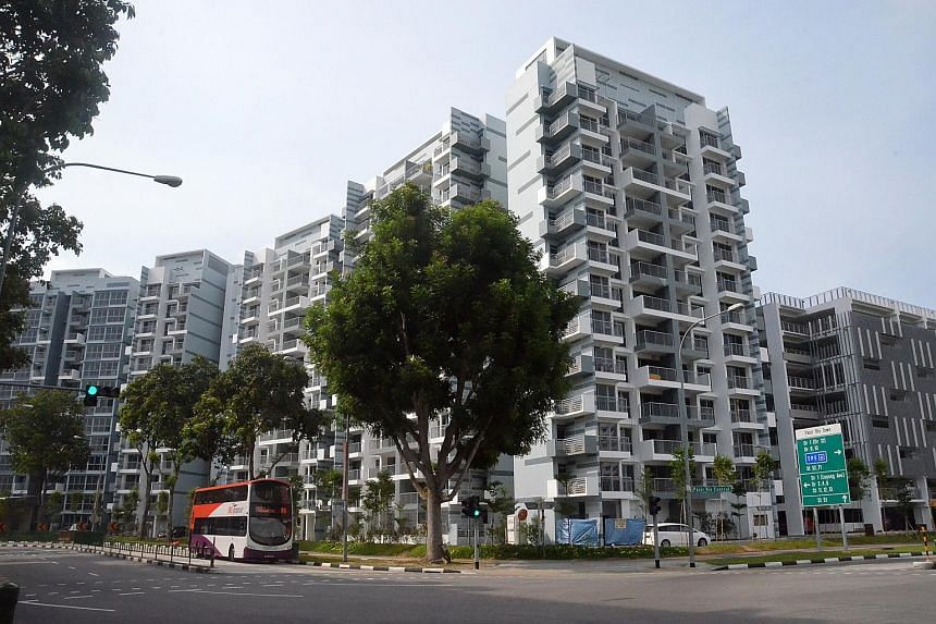 Pasir Ris One, the last of the Design, Build and Sell Scheme (DBSS) projects.