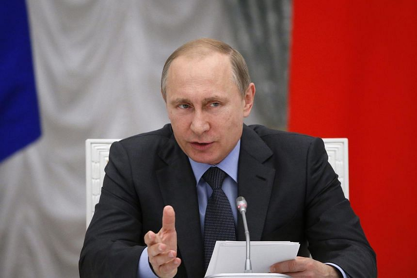 Russian President Vladimir Putin speaks during a meeting of the Presidential Council for Science and Education on June 24, 2015.