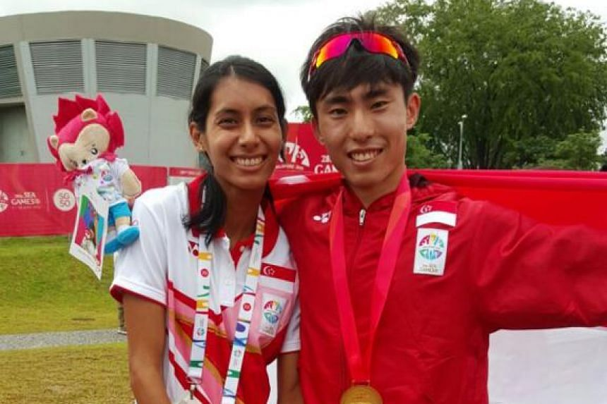 This was a very special moment for me – when I won the SEA Games Marathon – which I dedicated to my best friend, Dipna Lim Prasad, on her birthday.