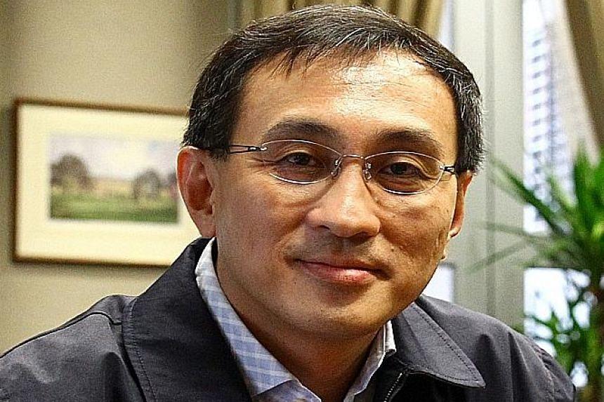 The remuneration for SMRT chief Desmond Kuek (above) is benchmarked against peer companies', says SMRT director Tan Ek Kia.
