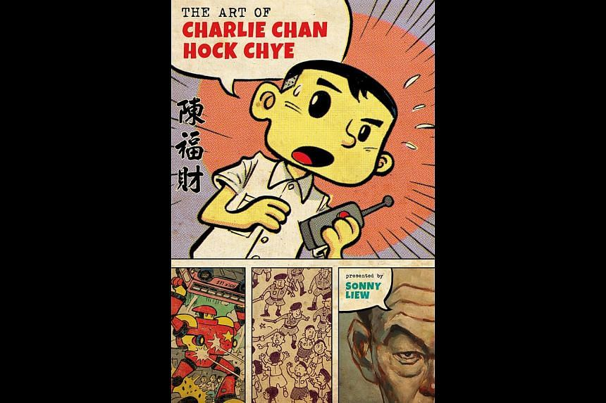 Book cover of The Art Of Charlie Chan Hock Chye by Sonny Liew.