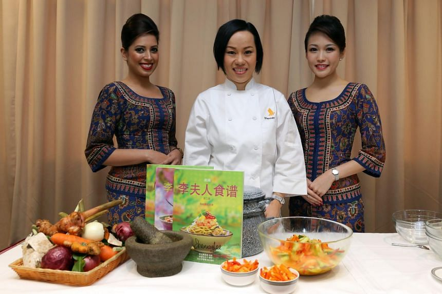Singapore Airlines passengers will be served Peranakan fare for three months starting July.