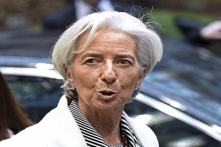 Christine Lagarde is ready to consider a second term as IMF head.