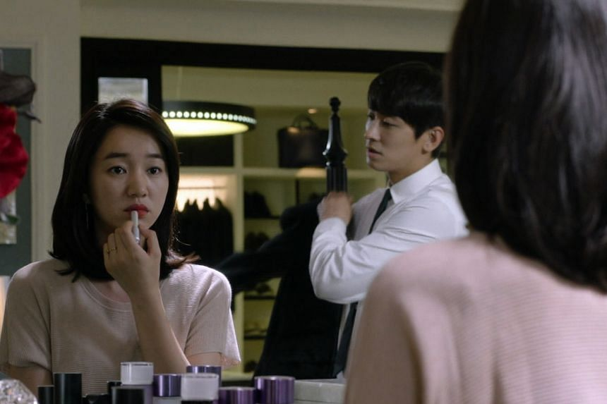 Mask stars Soo Ae (above) and Ju Ji Hoon, while vampire Kim Seol Hyun is attracted to human Yeo Jin Goo in Orange Marmalade.