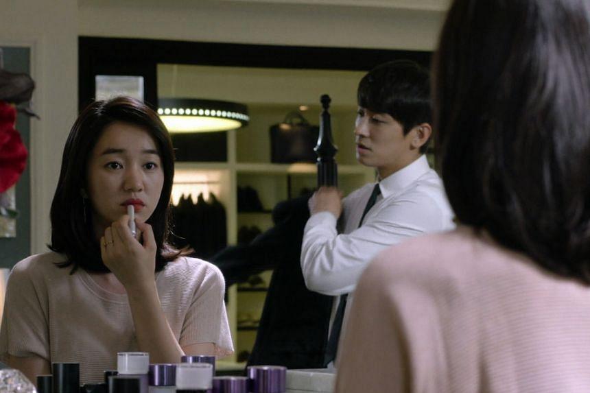 Mask stars Soo Ae (above) and Ju Ji Hoon, while vampire Kim Seol Hyun is attracted to human Yeo Jin Goo in Orange Marmalade.