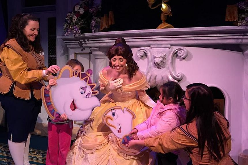 Enchanted tales with Belle where kids have a role in the story.