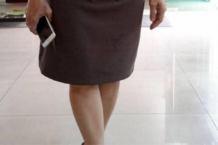 A woman wearing a brown knee-length skirt was allegedly denied entry into a Penang court complex by a security guard.