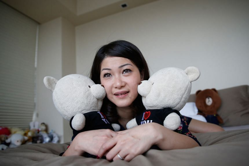 Ms Felinda Soh has von Willebrand disease, a blood disorder so rare that her medication costs her nearly $10,000 a month. Because she can't have children, she keeps two teddy bears - Baby and Bebe. She was so depressed about her medical condition tha