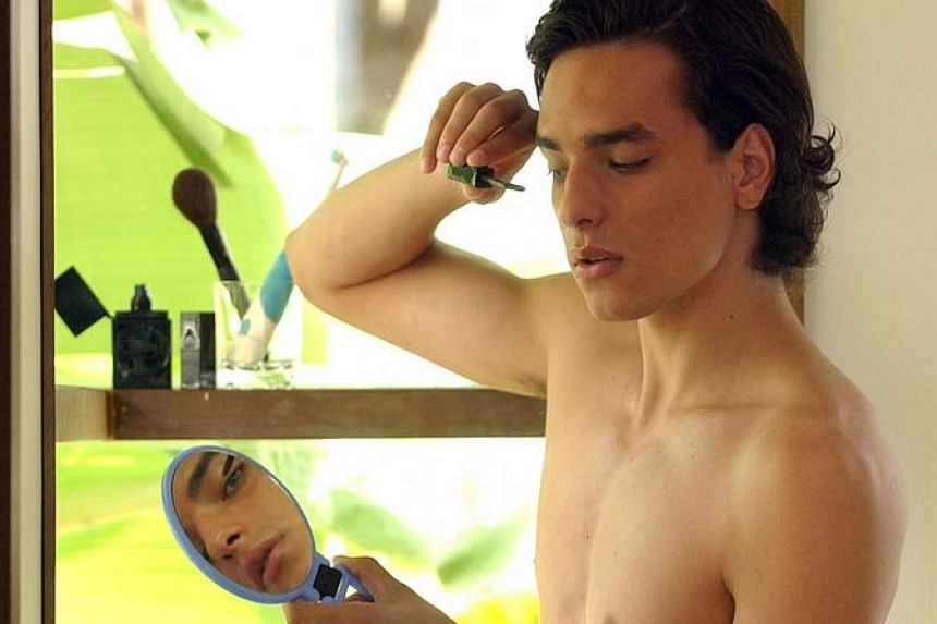 Men do not have to shy away from using make-up, such as light foundation and concealers, to hide imperfections such as acne scars.
