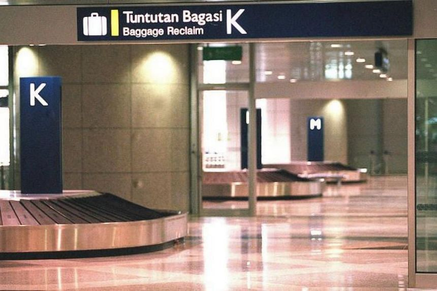 Kuala Lumpur International Airport's baggage services' Lost and Found area.