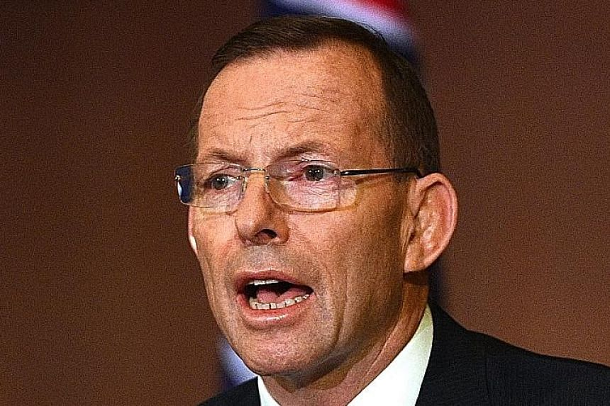 Mr Tony Abbott will tour Bishan Park tomorrow and stop by a barbecue for Singaporeans and Australians.