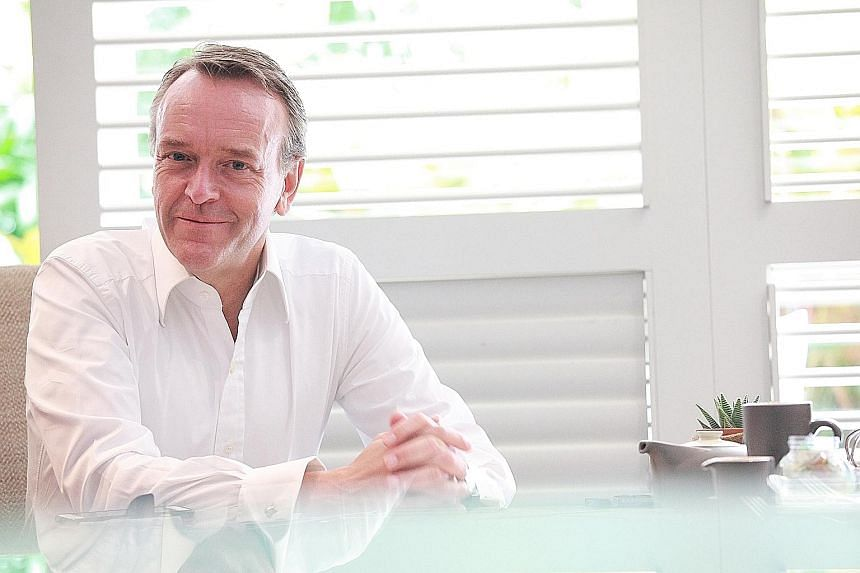 Mr Magnus Bocker will leave his post as SGX chief on July 14, but the Swede plans to stay put in Singapore.