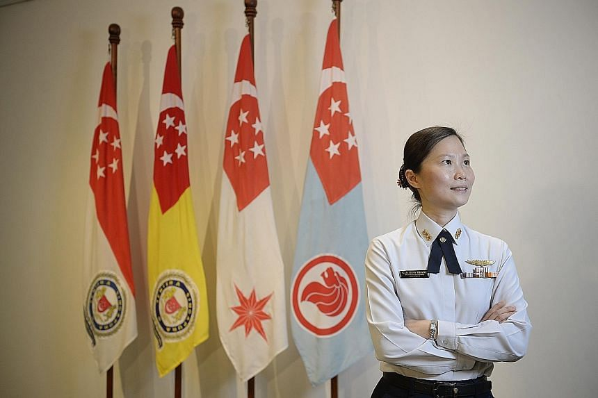 Colonel Gan Siow Huang will take over as the RSAF's head of air intelligence and director (special projects) next month. The mother of three girls paid tribute to her colleagues and bosses, and said strong family support allows her to pursue her care