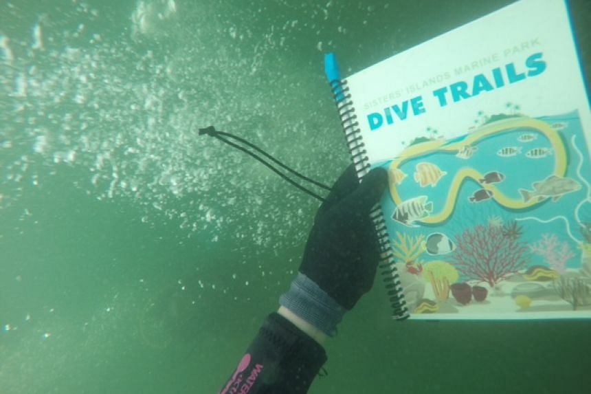 Two dive trails, complete with 20 underwater signboards that serve as activity stations and markers, will be open for approved dive operators to take scuba divers on dive trips in September 2015.