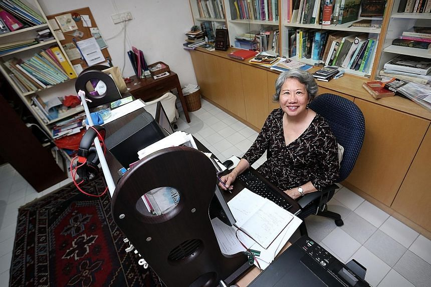 Award-winning writer Stella Kon, 71, is currently NTU's oldest student. The grandmother of six is pursuing a Master of Arts degree partly by research.