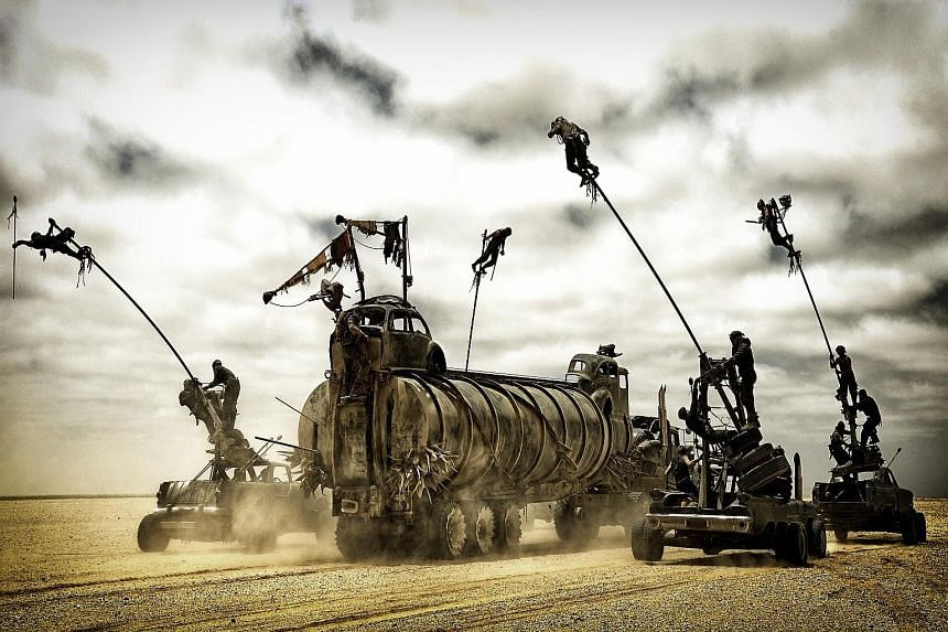 During the filming of Mad Max: Fury Road (above) in the Namib desert in Namibia, production crew members were said to have disturbed sensitive areas and tried to cover over the damage, endangering rare desert reptiles and plants. The case drew much a