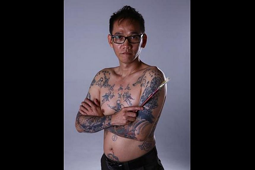 Mr Yeow was much sought after when he was a tattoo artist and could earn more than $2,000 a day.