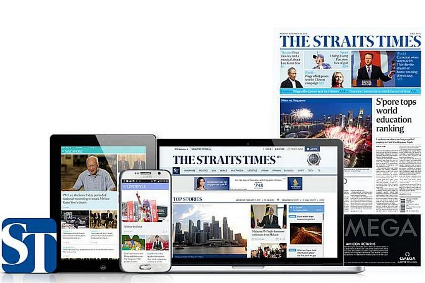 A new look and new features for The Straits Times will be unveiled on Wednesday, July 1, across the newspaper, website, mobile and tablet apps.