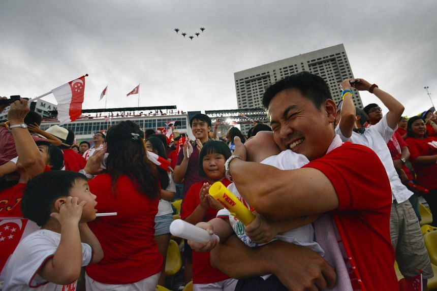 National Day Parade 2014. NDP 2015 exco is working with websites to stop sale of tickets.