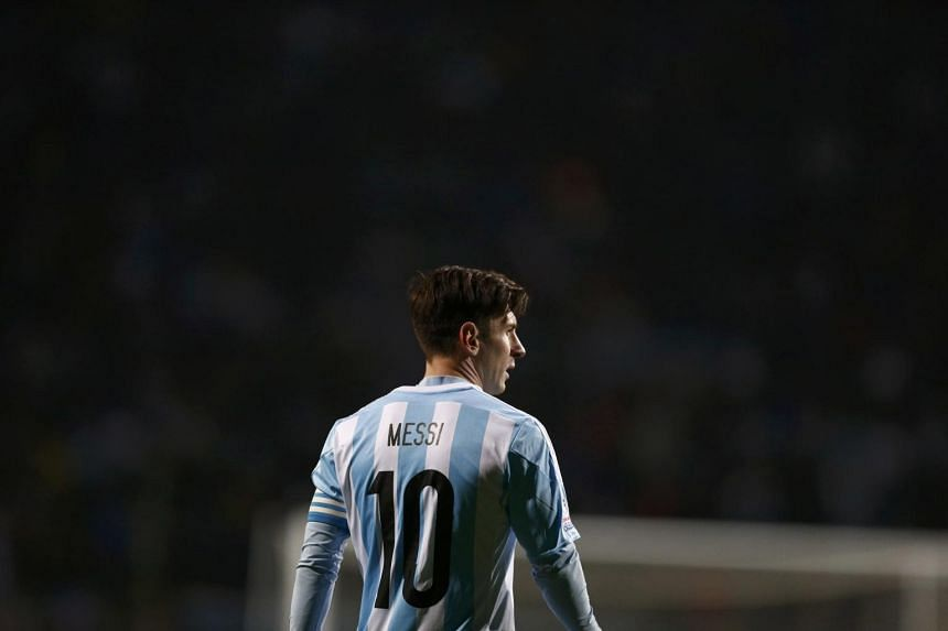 Argentina's Lionel Messi during the Copa America quarter-final against Colombia.