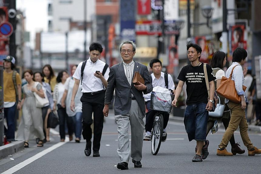 Japanese retiree Sadao Sekine in Saitama. The 75-year-old former trading company employee is part of Japan's growing band of pensioners - more than a quarter of the population are 65 or over - and also one of the most reliable constituencies of the r