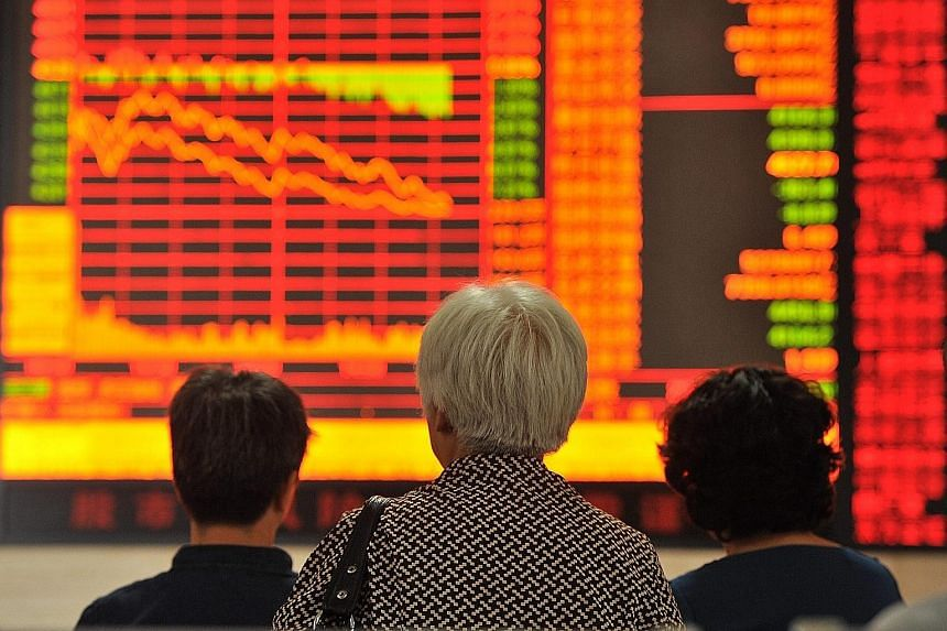 Chinese stocks are down 20 per cent from their peak earlier this month, a trend labelled by the China Securities Regulatory Commission as a normal correction to over-valuations in the market.