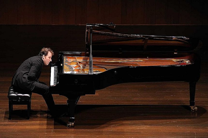 Czech pianist Lukas Vondracek gripped the audience with subtlety and aplomb.