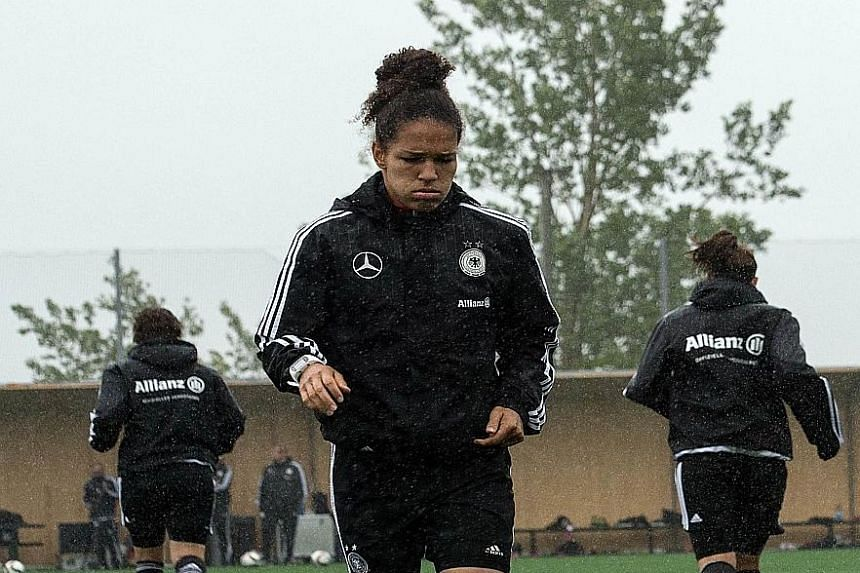 Germany's Celia Sasic, the top scorer with six goals, will be gunning for more to take the three-time winners into the final.
