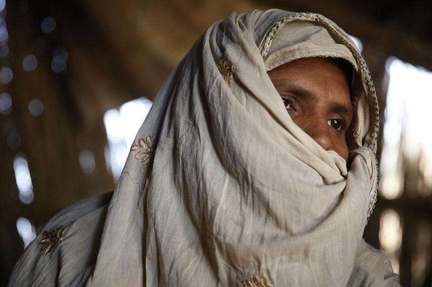 A victim of bride-trafficking in Haryana, India.