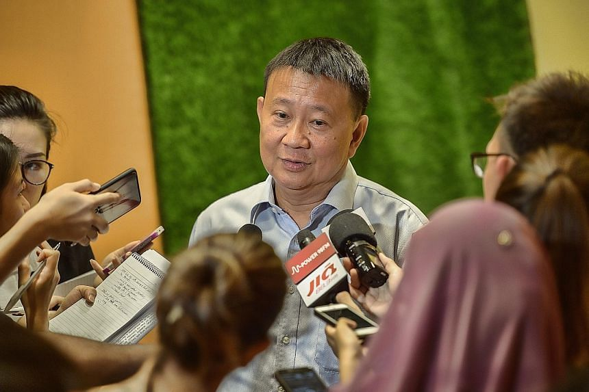 """Mr Lee Tzu Yang says the committee's work is an opportunity """"to explore the ideals and values"""" of Singapore's founding leaders. ST PHOTO: DESMOND WEE"""