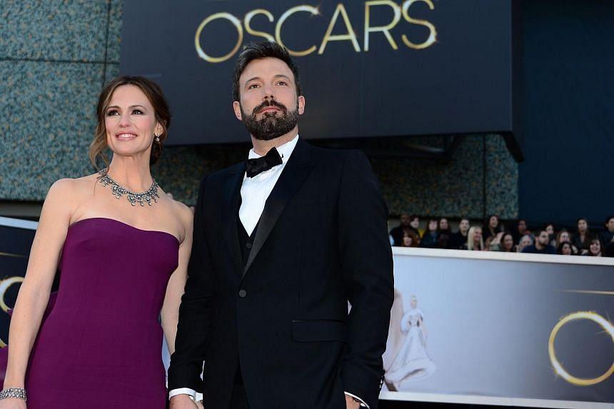 Ben Affleck and Jennifer Garner at the Oscars in 2013.