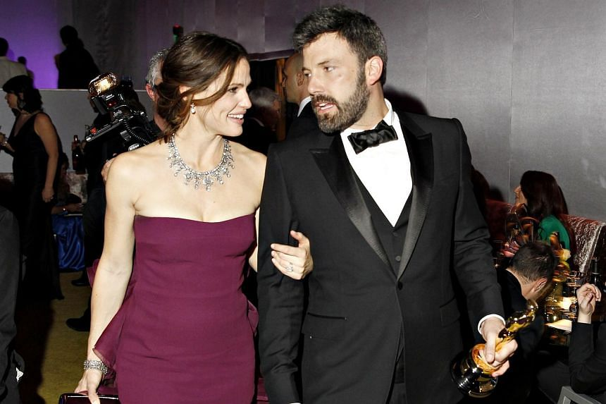Jennifer Garner and Ben Affleck at the Governers Ball in 2013.