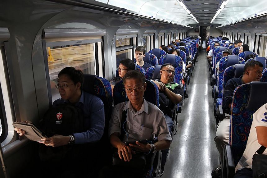 The train service will provide a solution for those who travel daily from Johor to Singapore, operator KTM said.