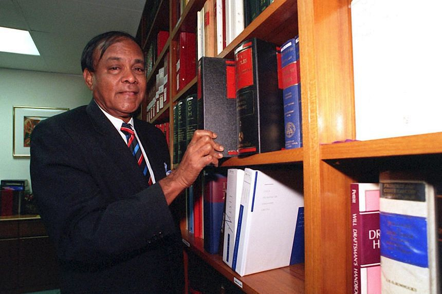 N. Ganesan, who helmed the FAS from 1974 to 1981, is seen in 1998.