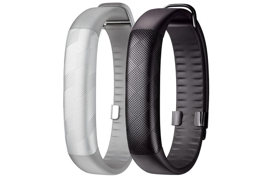 Jawbone Up2 fitness trackers.
