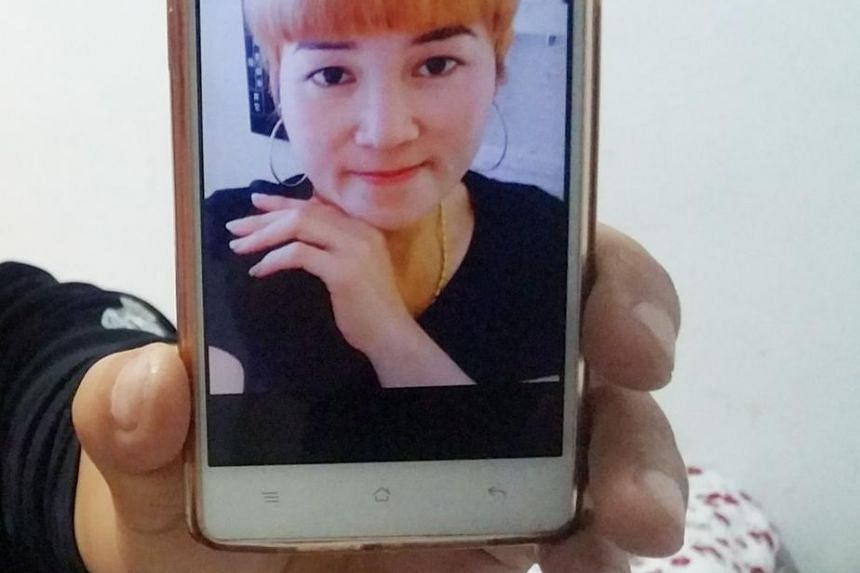 Zhang Wei's wife Xiao Hong (pictured) went missing after they were married for 50 days.