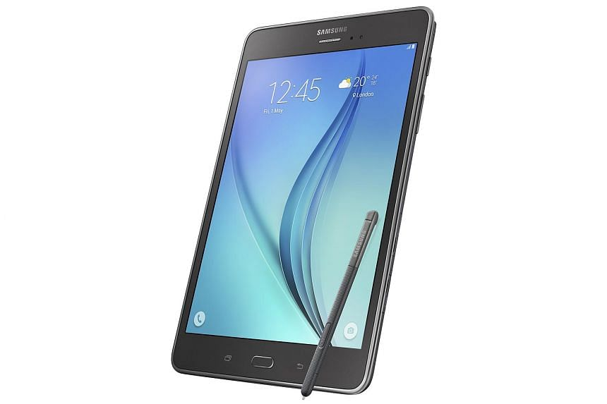 """The Samsung Galaxy Tab A with S Pen (8.0"""")."""