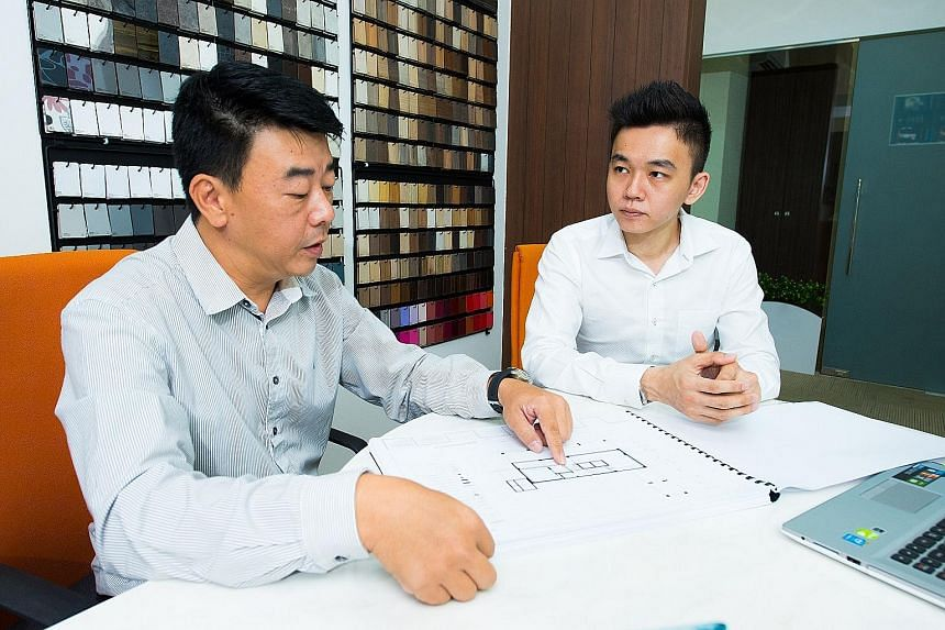 New Union founders Lee Yue Cheng (left) and Eddie Lee. The start-up has raised over $21 million for about 40 SMEs.