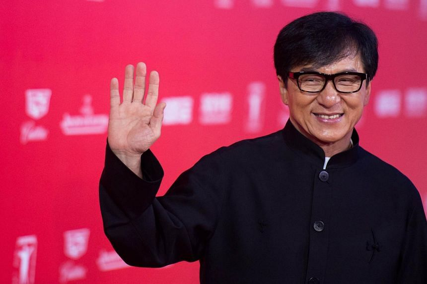 Hong Kong actor Jackie Chan.