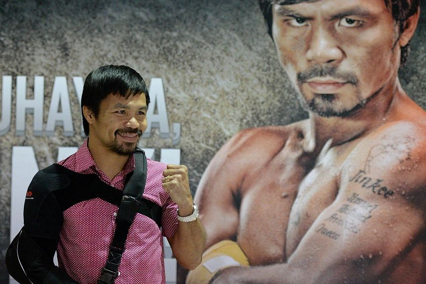 Among the supporters of Vice-President Jejomar Binay's new party is boxer and congressman Manny Pacquiao (above).