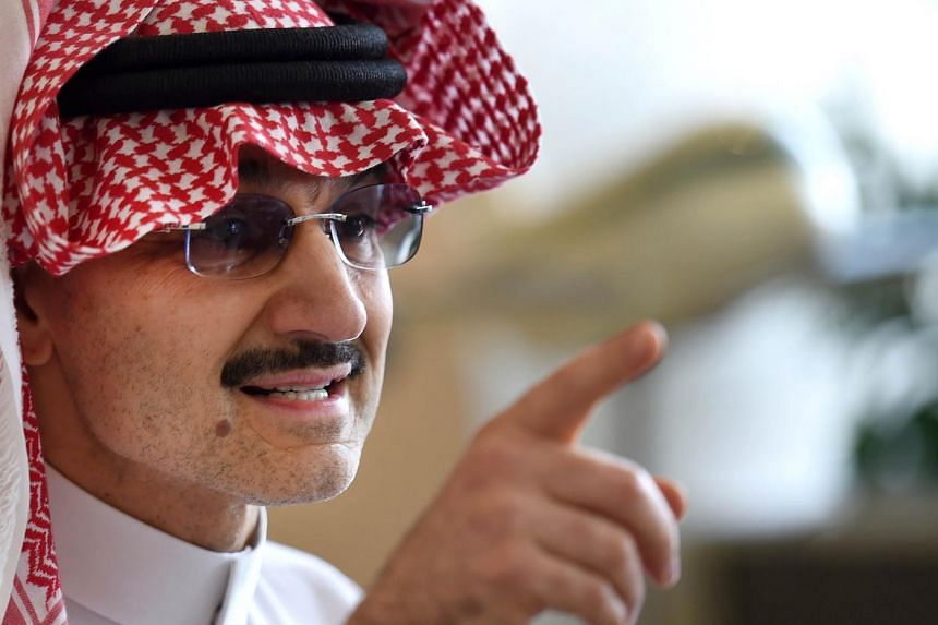 The billionaire prince is No. 34 on the Forbes list of the world's richest people.