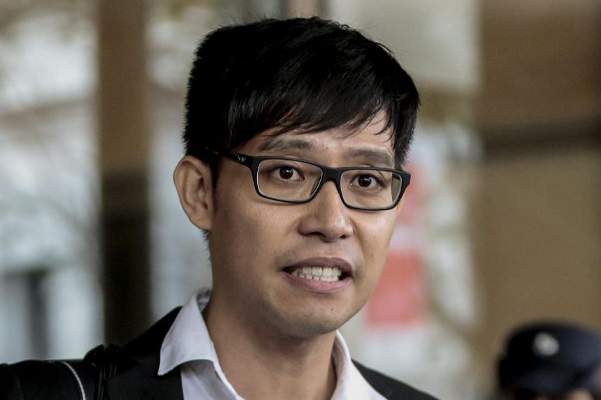 Roy Ngerng is due to take the witness stand today.