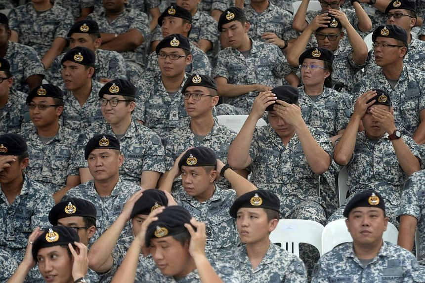 SAF50 Parade held at SAFTI Military Institute on 1 July, 2015.