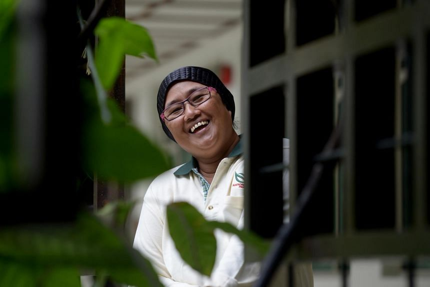 Madam Rashida Zali grew up in the Gardens' staff quarters and has been working at the park for the past 37 years. She is now an assistant horticultural officer.