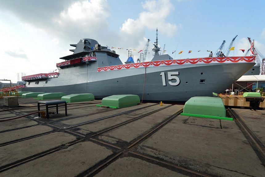 Singapore's first Littoral Mission Vessel (LMV), the Independence.